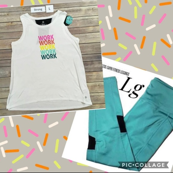NWT Rise outfit from LLR